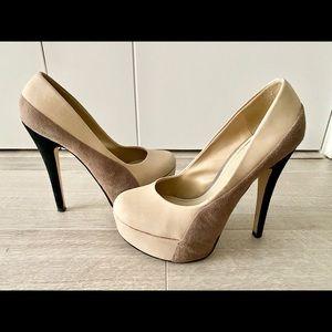 ALDO platform pumps w/ stiletto heels (size 5/35)
